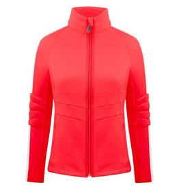 Stretch Fleece Jacket Scarlet Red