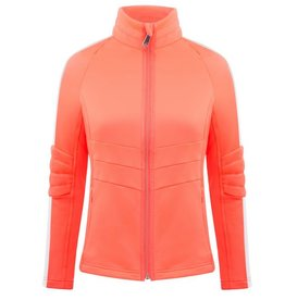 Stretch Fleece Jacket Nectar Orange