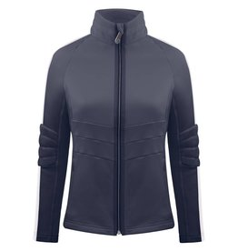 Stretch Fleece Jacket Gothic Blue