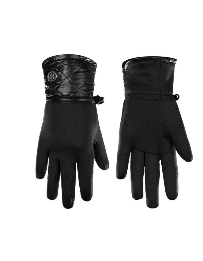 Stretch Fleece Gloves Black