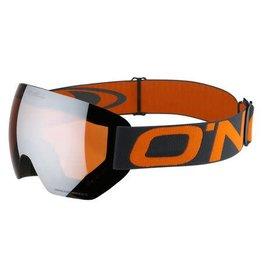Oneill Pro Snow Goggles Asphalt Orange Frameless