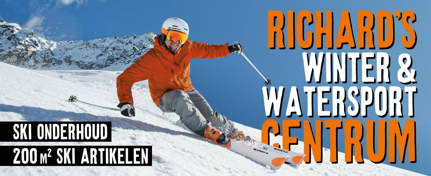 Welcom by Winter & Watersport Centre! Take a look in our webshop!