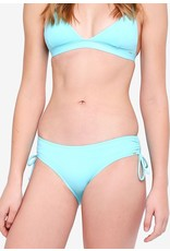 Piha adjustable side pant aqua