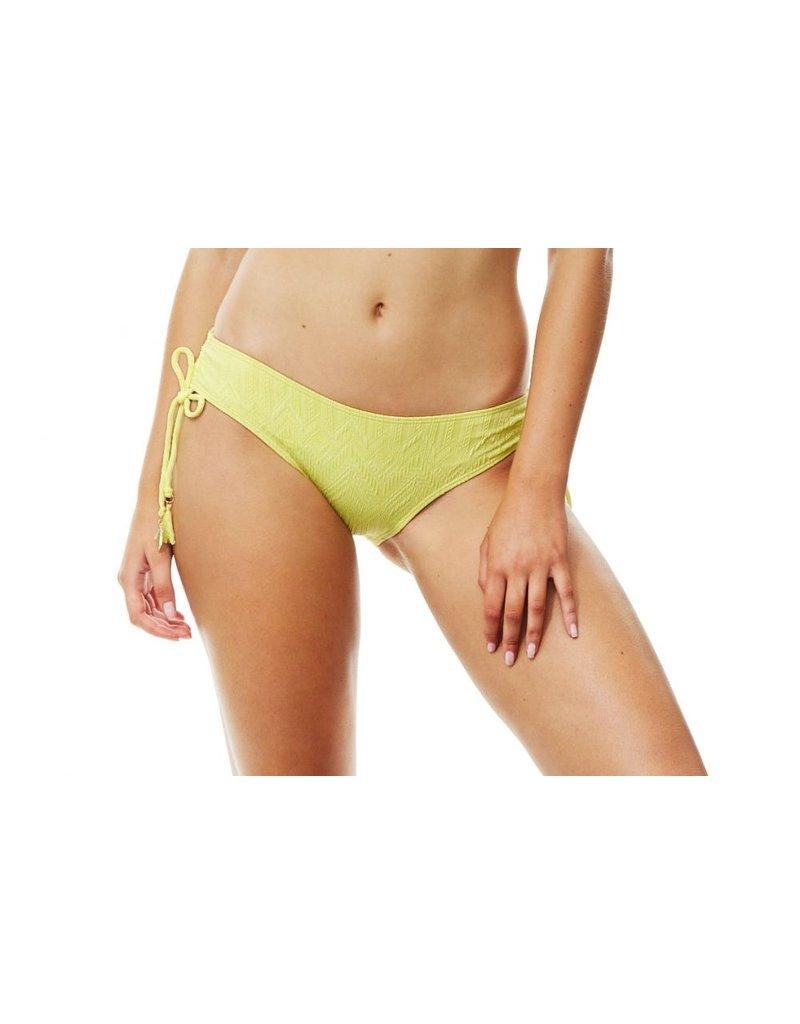 Piha Adjustable side pant yellow