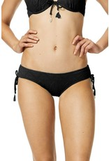 Piha Adjustable side pant black Gelato