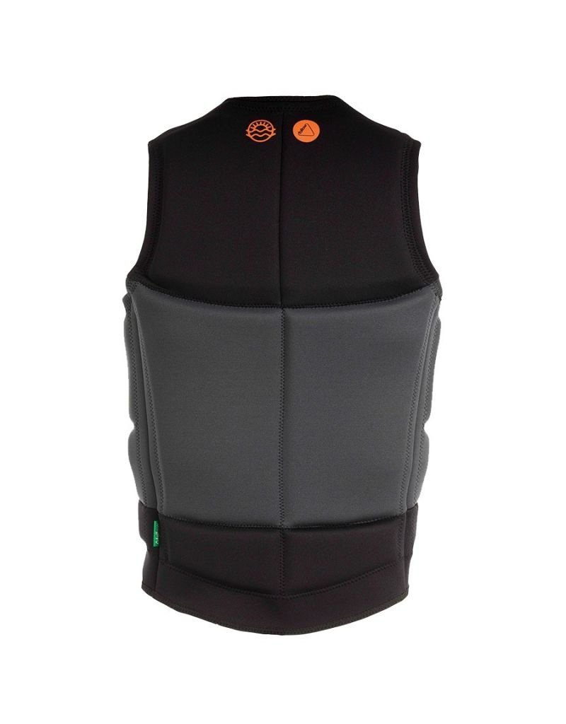 Follow Coastline impact vest -teen- black