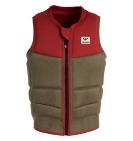 Follow Mitch Pro Impact Vest Dusty Red Mens