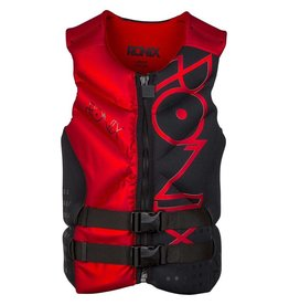 Ronix one capella front zip black/red