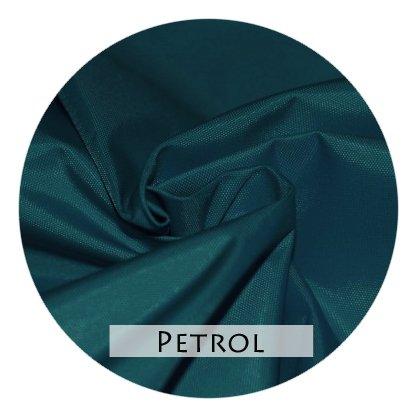Stoffmuster Funktionsstoff Petrol für Bettrand