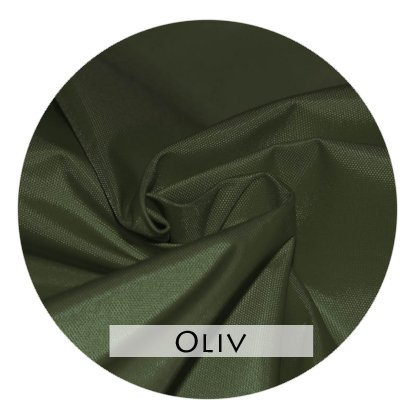 Stoffmuster Funktionsstoff Oliv für Bettrand