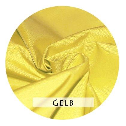 Stoffmuster Funktionsstoff Gelb für Bettrand