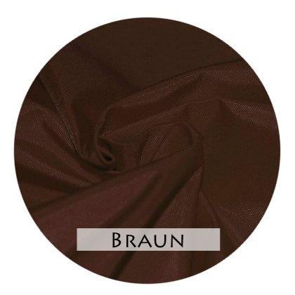 Stoffmuster Funktionsstoff Braun für Bettrand