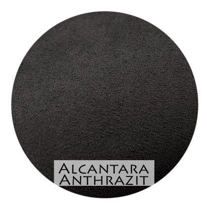 Stoffmuster Alcantara Anthrazit