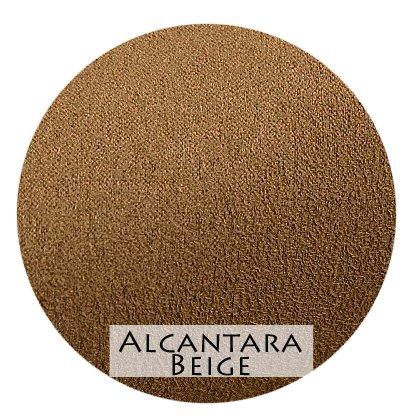 Stoffmuster Alcantara Beige