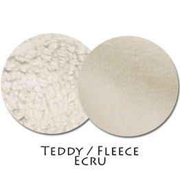 Stoffmuster Teddy/Fleece Ecru