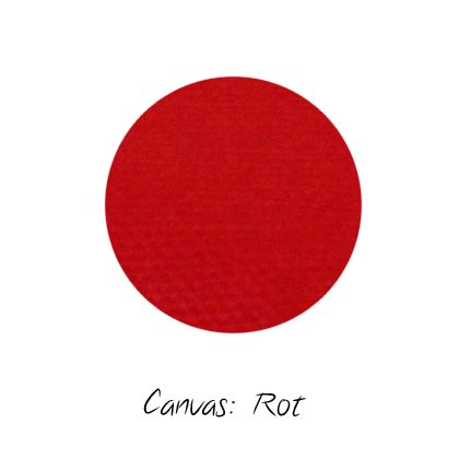 Stoffmuster Canvas Rot