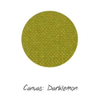 Stoffmuster Canvas Darklemon