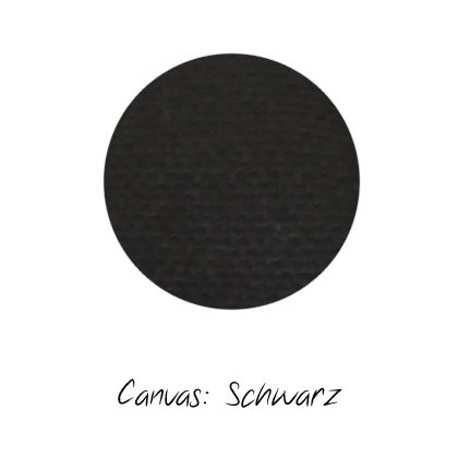 Stoffmuster Canvas Schwarz