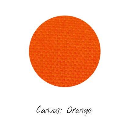 Stoffmuster Canvas Orange