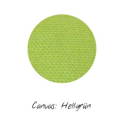Stoffmuster Canvas Hellgrün