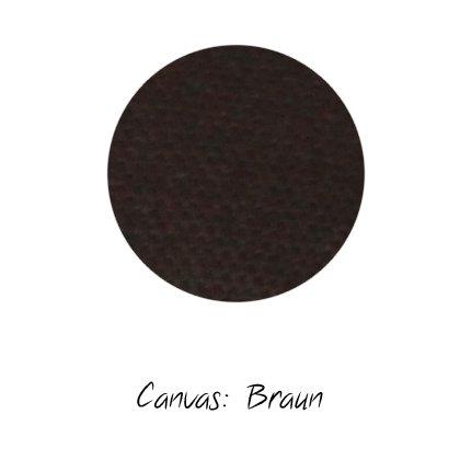 Stoffmuster Canvas Braun