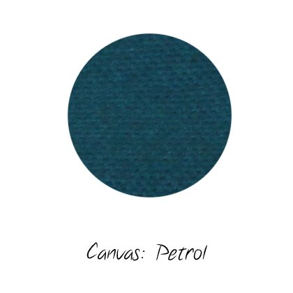 Stoffmuster Canvas Petrol