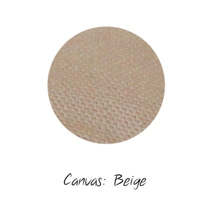 Stoffmuster Canvas Beige