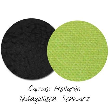 Kuschel-Wendedecke Hellgrün