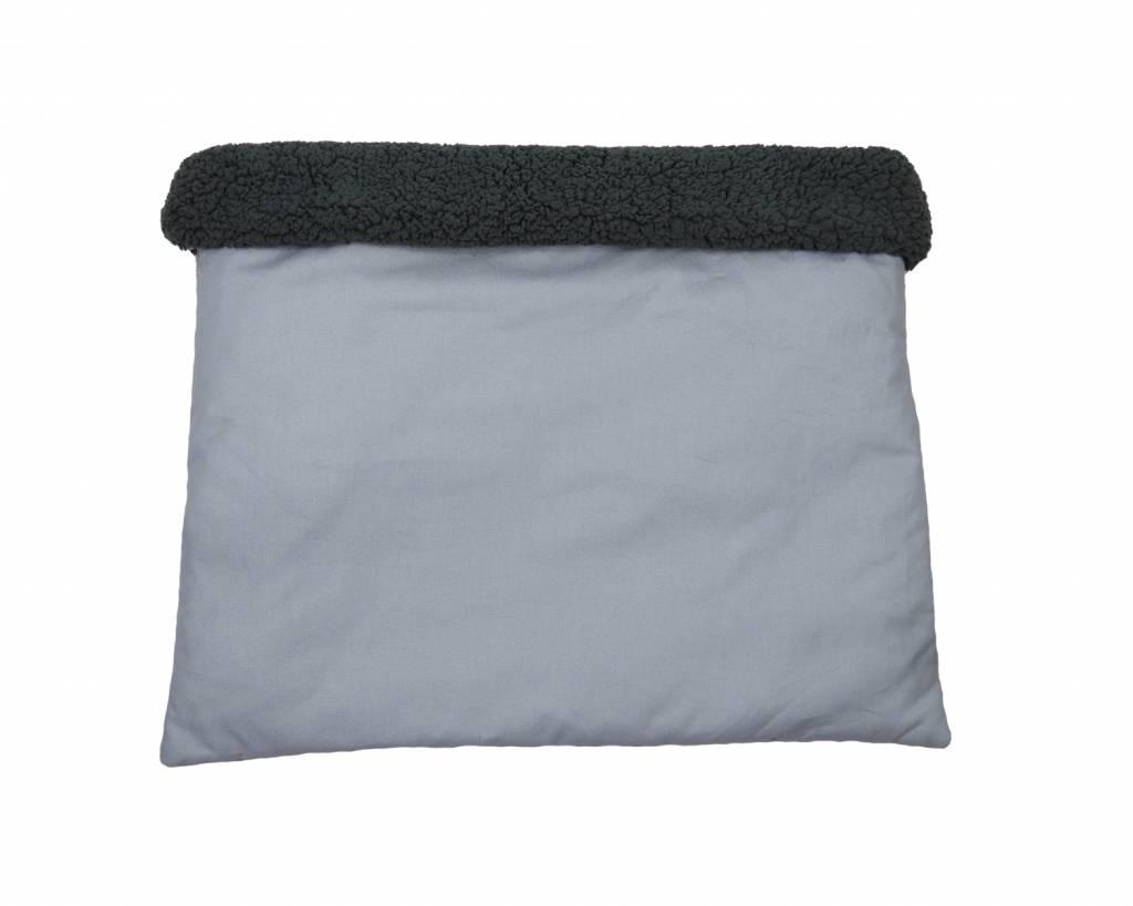 Hunde Kuschel-Schlafsack Grau, uni