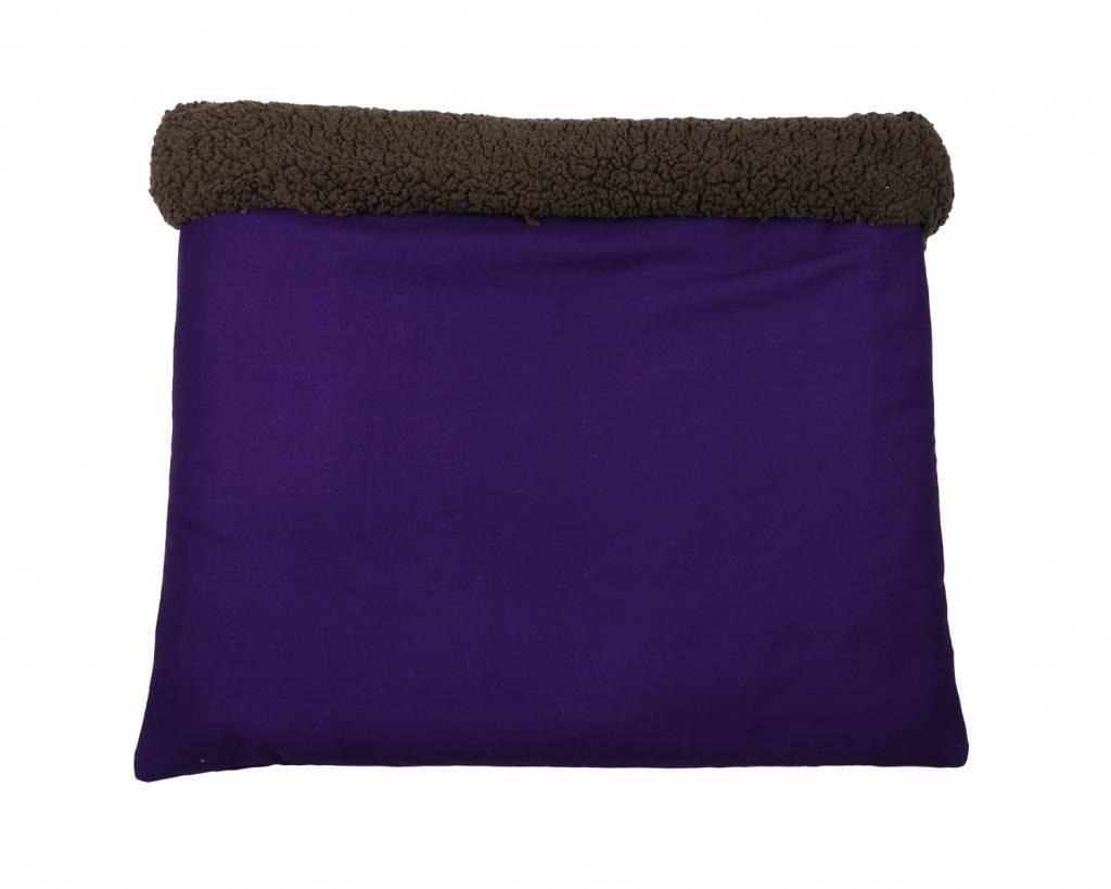 Hunde Kuschel-Schlafsack Violett, uni