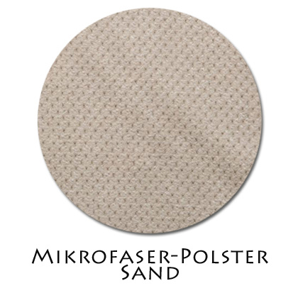 Stoffmuster Polsterstoff Sand