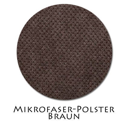 Stoffmuster Polsterstoff Braun