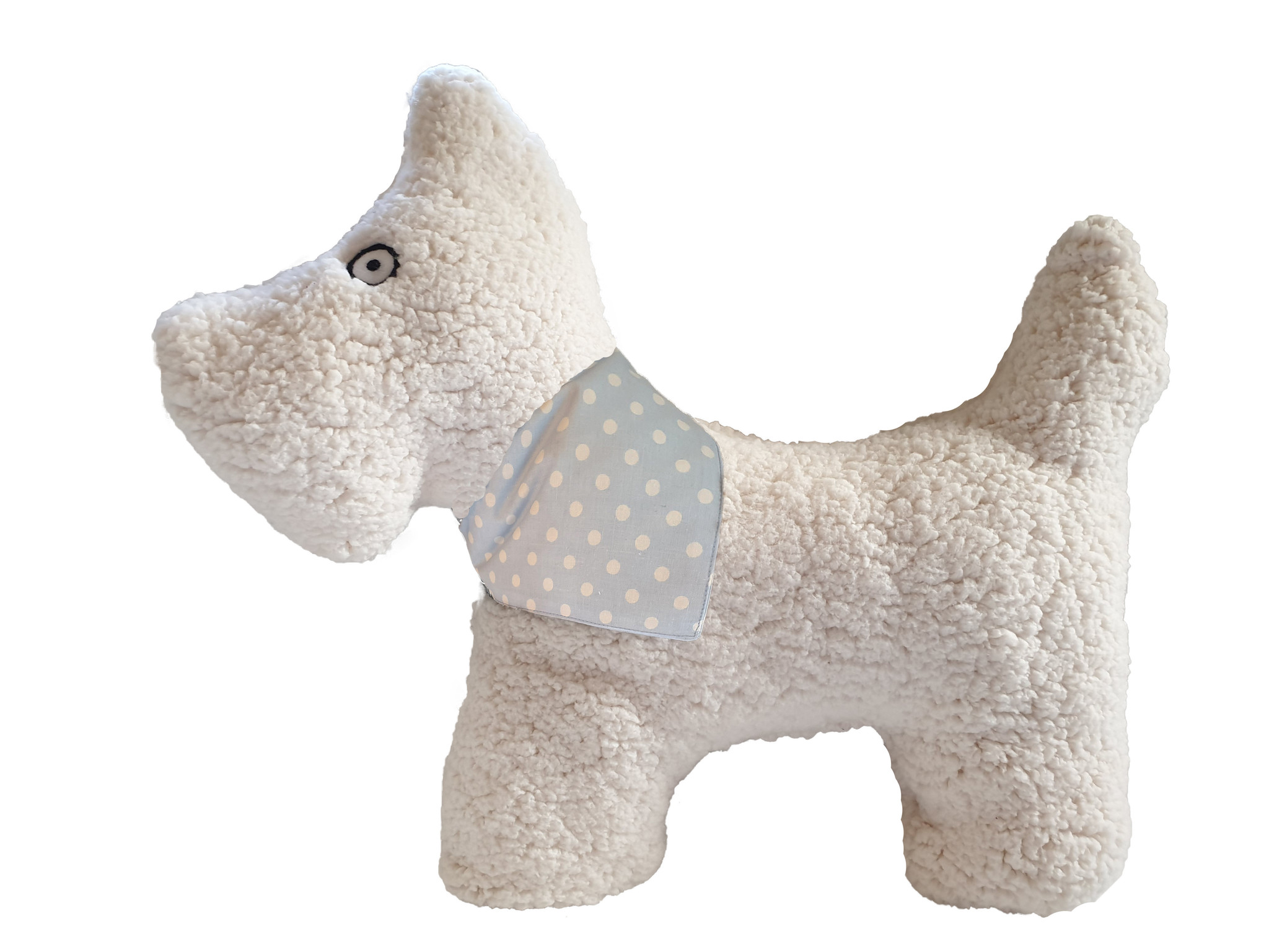 Kopfkissen-Plüschhund Kurt