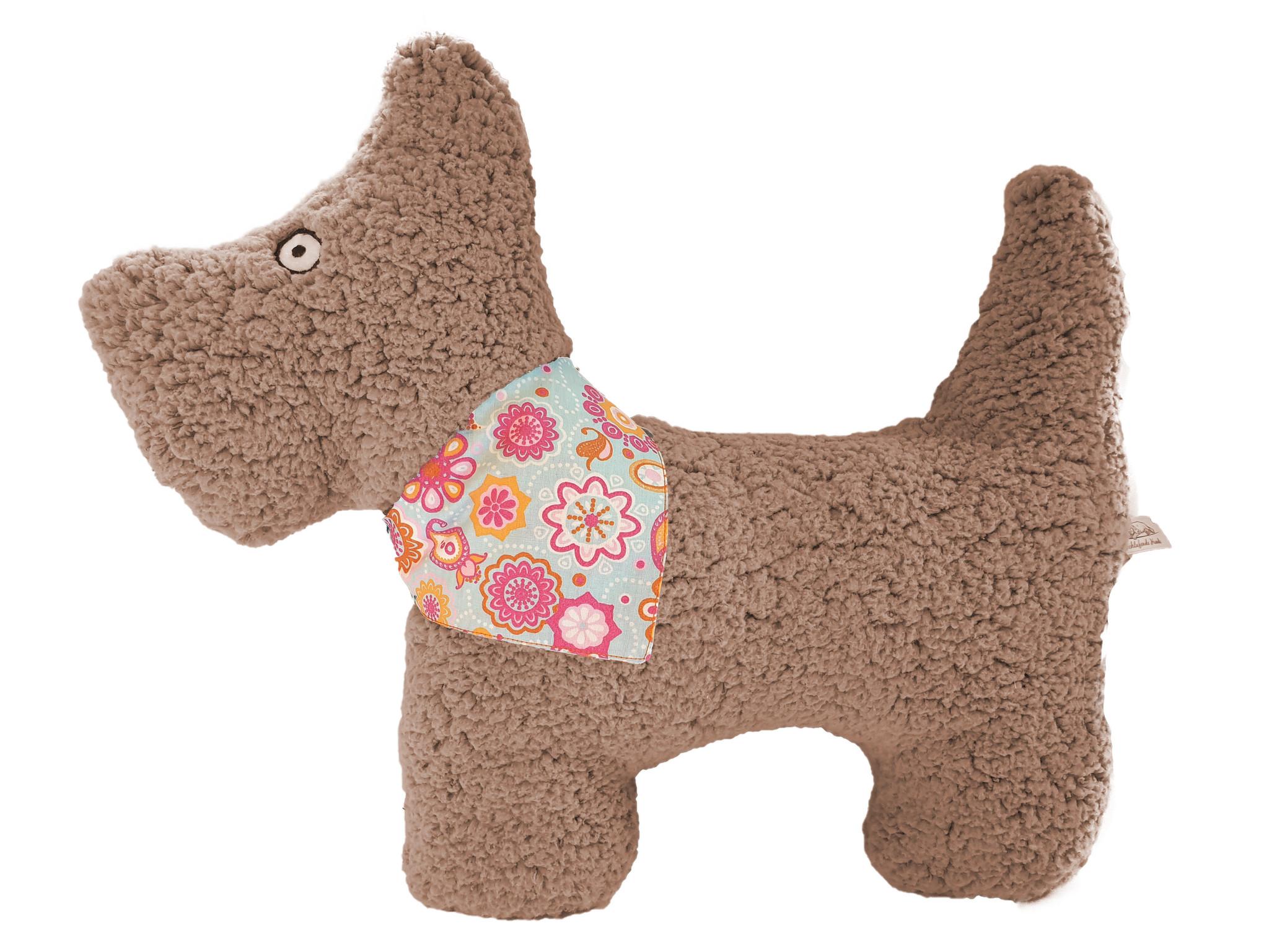 Kopfkissen-Plüschhund Theo