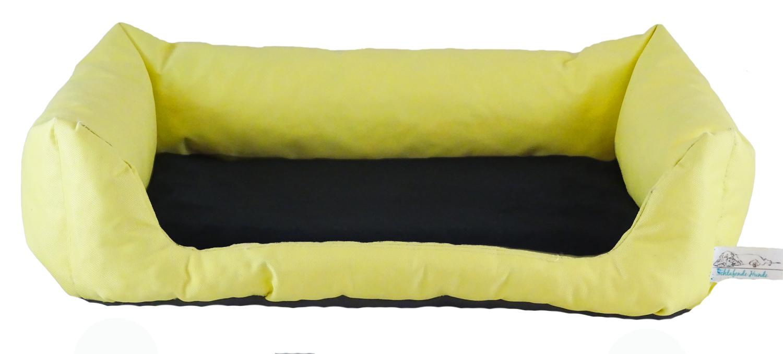 Hundebett Gelb