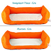 Inkontinenz-Hundebett Orange