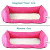Inkontinenz-Hundebett Pink