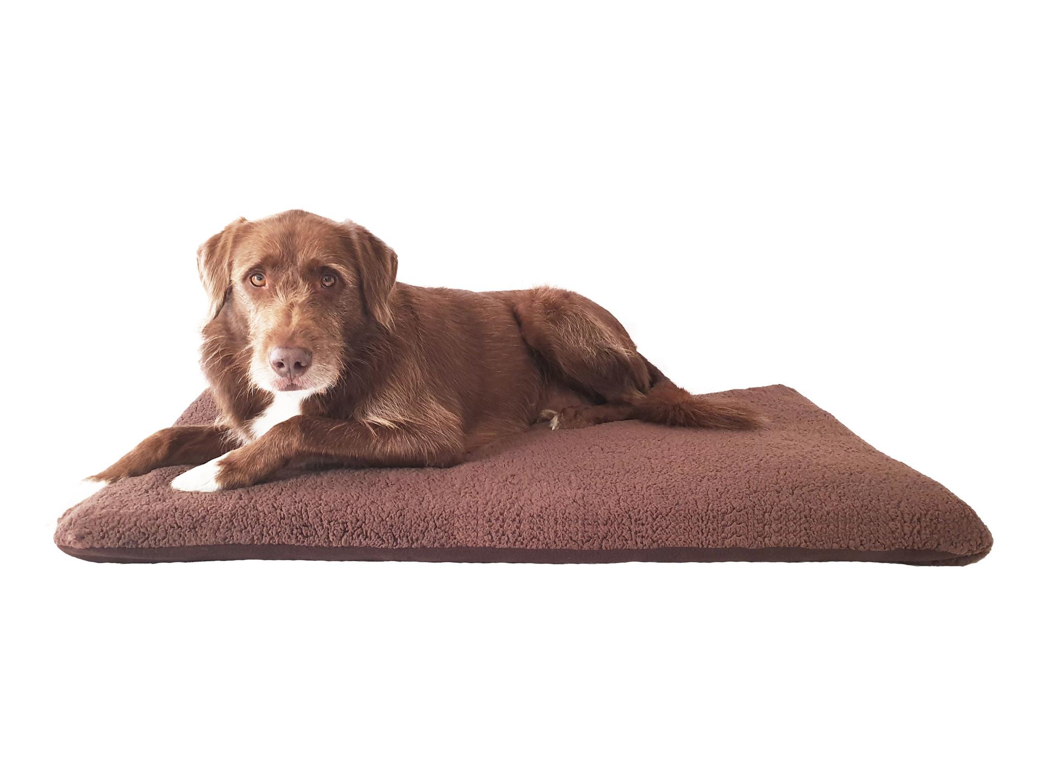 Ersatzbezug Plüsch für gelenkschonende Hundematratze