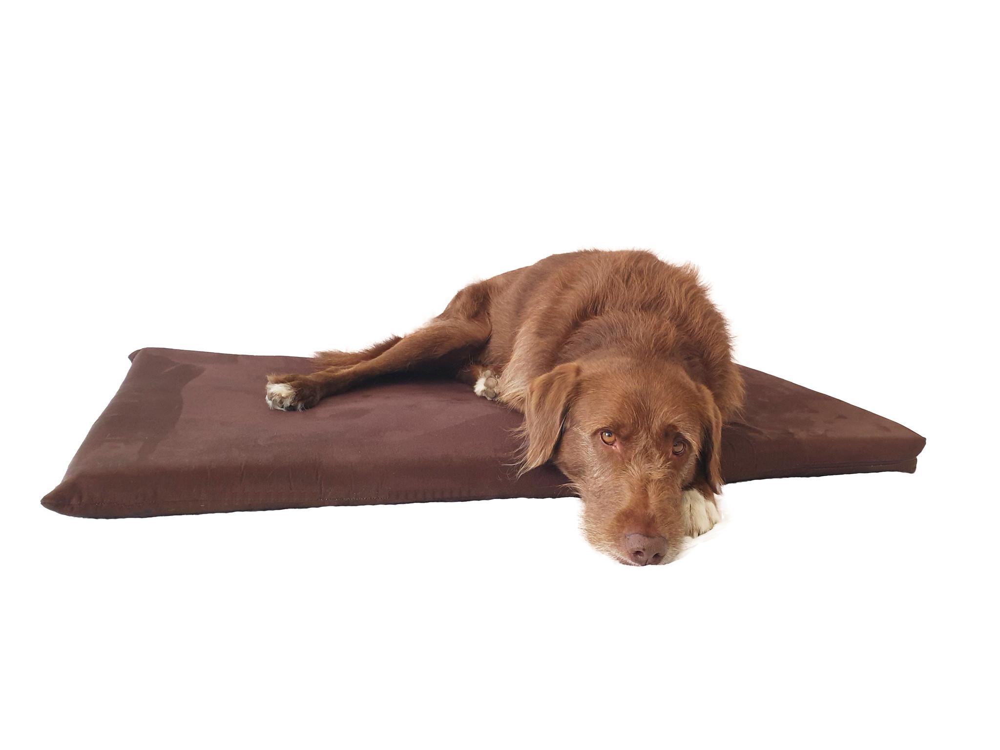 Ersatzbezug Alcantara für gelenkschonende Hundematratze