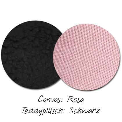 Kuschel-Wendedecke Rosa