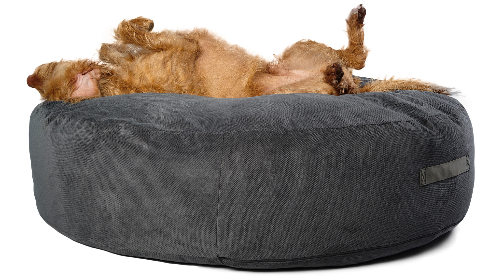 Hundebett Pouf - Polster Anthrazit