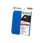 Ultimate Guard 18-Pocket Pages Side-Loading Blue (10)