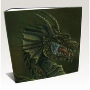 Dragon Shield 3-Ring Binder Brown Dragon