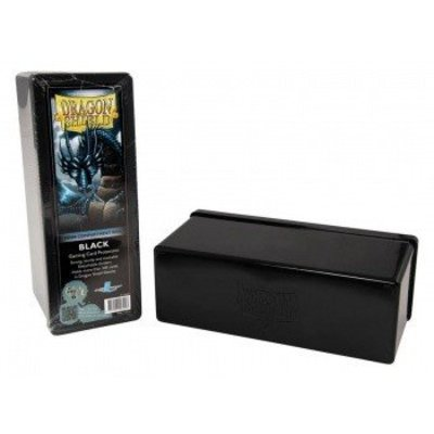 Dragon Shield 4 Compartment Storage Box Black