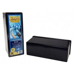 Dragon Shield 4 Compartment Storage Box Blue