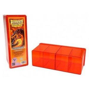 Dragon Shield 4 Compartment Storage Box Orange