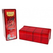 Dragon Shield 4 Compartment Storage Box Red