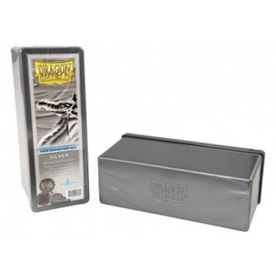 Dragon Shield 4 Compartment Storage Box Silver