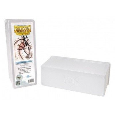 Dragon Shield 4 Compartment Storage Box White
