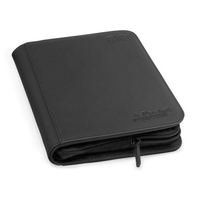 Ultimate Guard 4-Pocket ZipFolio XenoSkin Black